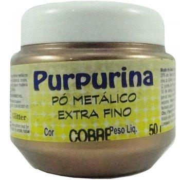 PURPURINA COBRE 50 GR GLITER