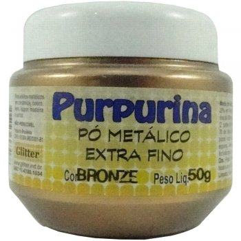 PURPURINA BRONZE 50 GR GLITER
