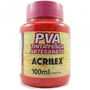TINTA ACRILEX FOSCA P/ARTES.100 ML 541 VM VIVO