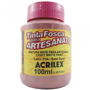 TINTA ACRILEX FOSCA P/ARTES.100 ML 581 RS CICLAME