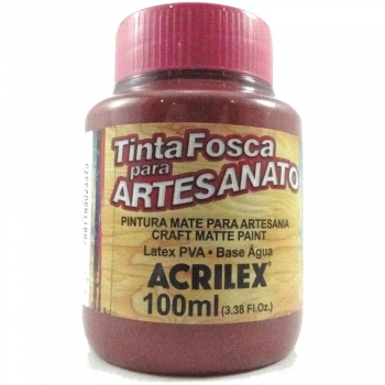 TINTA ACRILEX FOSCA P/ARTES.100 ML 565 VINHO