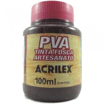 TINTA ACRILEX FOSCA P/ARTES.100 ML 526 MR ESCURO