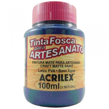 TINTA ACRILEX FOSCA P/ARTES.100 ML 596 AZ PETROLEO