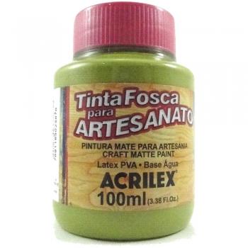 TINTA ACRILEX FOSCA P/ARTES.100 ML 570 VD PISTACHE