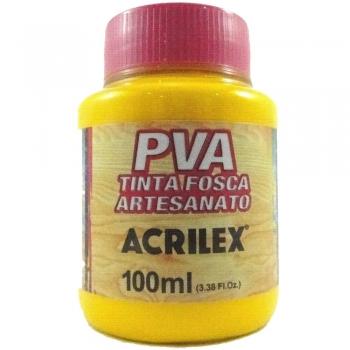 TINTA ACRILEX FOSCA P/ARTES.100 ML 505 AM OURO