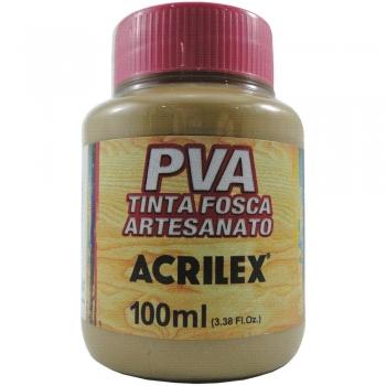 TINTA ACRILEX FOSCA P/ARTES.100 ML 585 CAPUCCINO