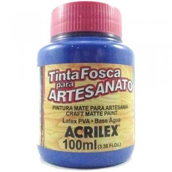 TINTA ACRILEX FOSCA P/ARTES.100 ML 535 AZ MAR