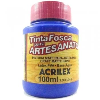 TINTA ACRILEX FOSCA P/ARTES.100 ML 543 AZ ULTRAMAR