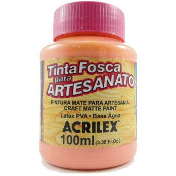 TINTA ACRILEX FOSCA P/ARTES.100 ML 829 FLAMINGO