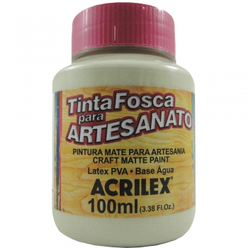 TINTA ACRILEX FOSCA P/ARTES.100 ML 835 SAARA