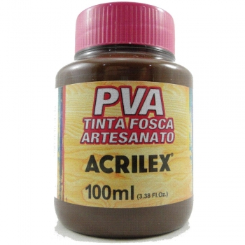 TINTA ACRILEX FOSCA P/ARTES.100 ML 814 CHOCOLATE