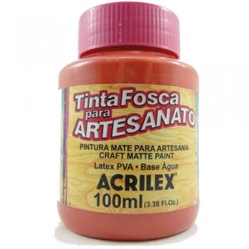 TINTA ACRILEX FOSCA P/ARTES.100 ML 805 GOIABA QUEI