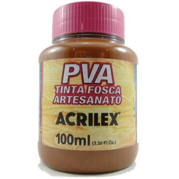 TINTA ACRILEX FOSCA P/ARTES.100 ML 815 CASTANHO CL