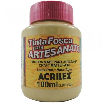 TINTA ACRILEX FOSCA P/ARTES.100 ML 818 CAMURCA QUE