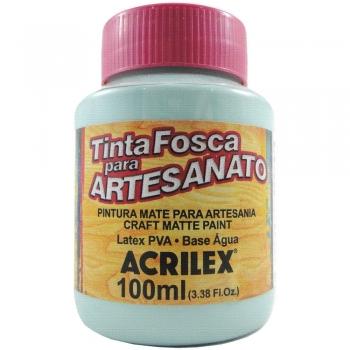 TINTA ACRILEX FOSCA P/ARTES.100 ML 821 VERDE AGUA