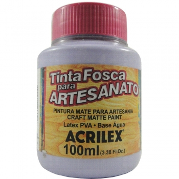TINTA ACRILEX FOSCA P/ARTES.100 ML 809 LILAZ BEBE