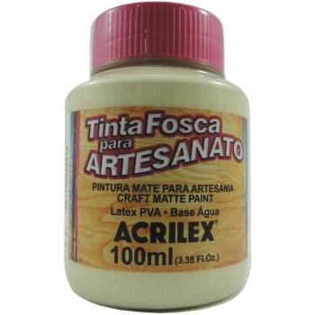 TINTA ACRILEX FOSCA P/ARTES.100 ML 834 PALHA