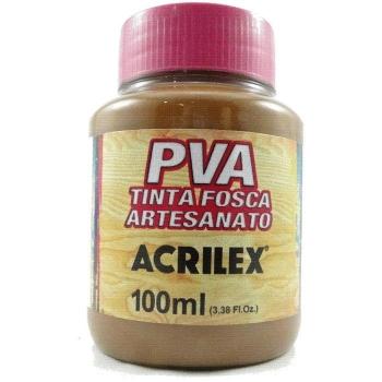 TINTA ACRILEX FOSCA P/ARTES.100 ML 531 MARROM