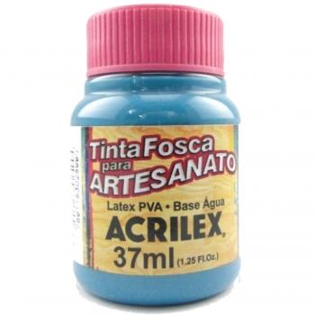TINTA ACRILEX FOSCA P/ARTES. 37 ML 823-AZ PISCINA