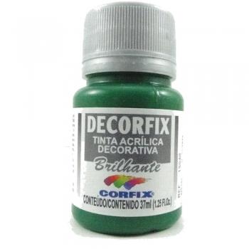 TINTA DECORFIX ACRIL. BRILH.37 ML 332 VERDE CLARO