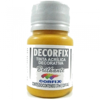 TINTA DECORFIX ACRIL. BRILH. 37 ML 305 OCRE OURO