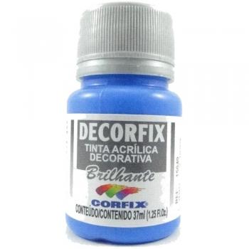 TINTA DECORFIX ACRIL. BRILH. 37 ML 323 AZ CELESTE