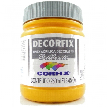 TINTA DECORFIX  ACR. BRILH. 250 ML 307-AM.CADMIO