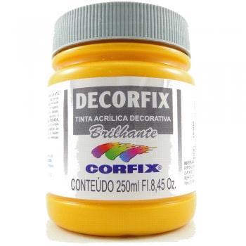 TINTA DECORFIX  ACR. BRILH. 250 ML 307-AM.CADMIO