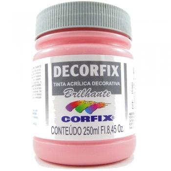TINTA DECORFIX  ACR. BRILH. 250 ML 342 ROSA CHA