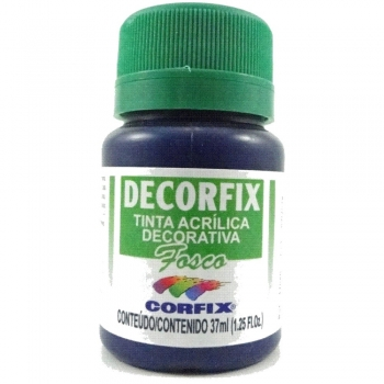 TINTA DECORFIX FOSCA 37 ML 324 AZUL TURQUESA