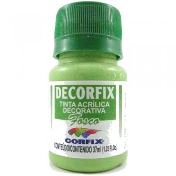 TINTA DECORFIX FOSCA 37 ML 374 VERDE KIWI