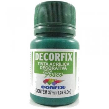 TINTA DECORFIX FOSCA 37 ML 337 VERDE BANDEIRA