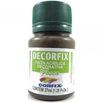TINTA DECORFIX FOSCA 37 ML 354 DARK CHOCOLATE