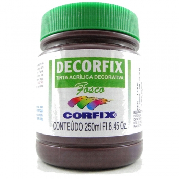 TINTA DECORFIX FOSCA 250 ML 358 BLACK GRAPE