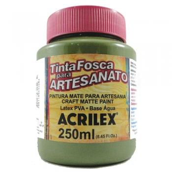TINTA ACRILEX FOSCA P/ARTES. 250 ML 545-VD.OLIVA