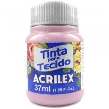 TINTA TECIDO FOSCA ACRILEX 37 ML 581 ROSA CICLAME