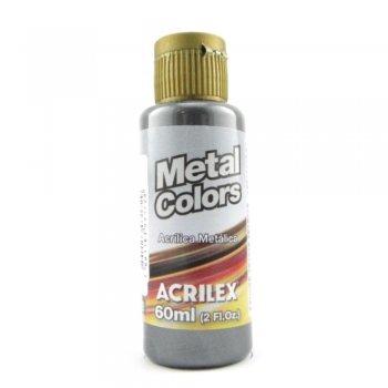 TINTA ACRILICA METAL COLORS 60 ML  520 PRETO