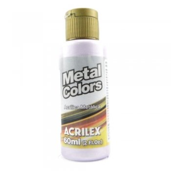 TINTA ACRILICA METAL COLORS 60 ML 528 LILAS