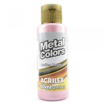 TINTA ACRILICA METAL COLORS 60 ML 537 ROSA