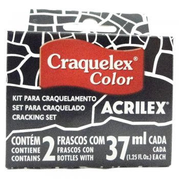 KIT CRAQUELEX COLOR 520 PRETO