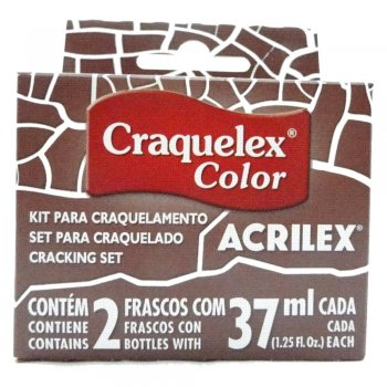 KIT CRAQUELEX COLOR 531 MARROM