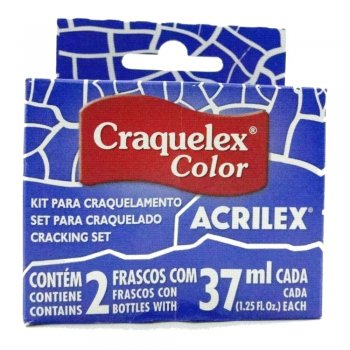 KIT CRAQUELEX COLOR 578 AZUL INTENSO