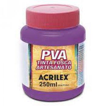 TINTA ACRILEX FOSCA P/ ARTES. 250 ML 549 MAGENTA