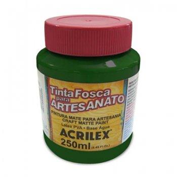 TINTA ACRILEX FOSCA P/ ARTES. 250 ML 513 VD MUSGO