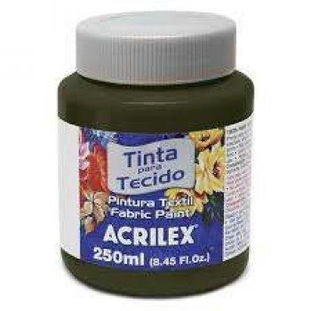 TINTA TECIDO FOSCA ACRILEX 250 ML 551 SEPIA