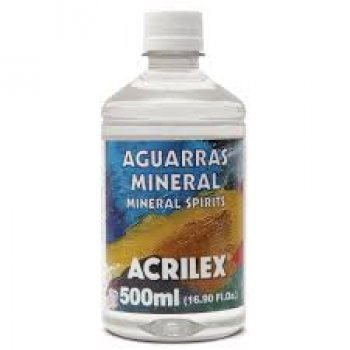 AGUARRAZ MINERAL 500 ML ACRILEX